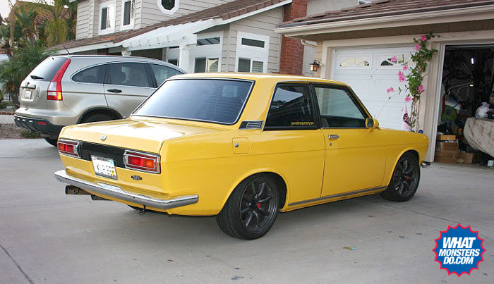datsun 510 japanese classic car rear
