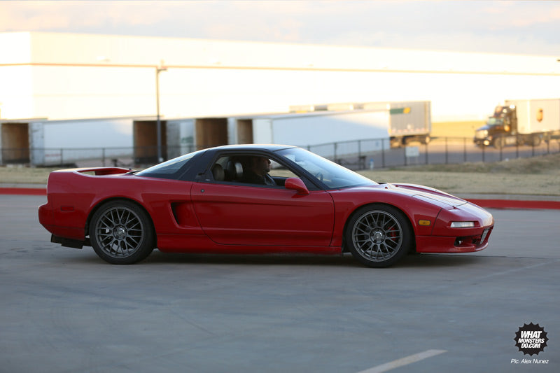 red acura honda nsx