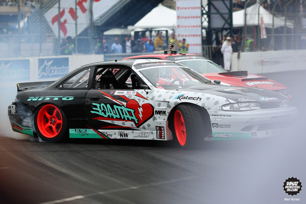 Matt Powers S14 Fatlace Formula Drift Round 1 2013