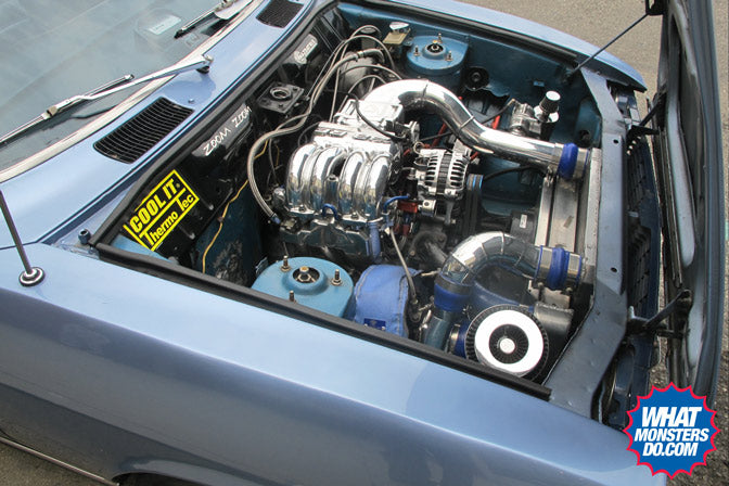 enkei92 on mazda rx-2 rx2 classic japanese car motor