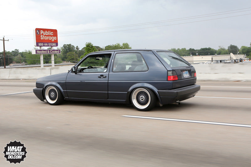 Volkswagen Golf on BBS Wheels
