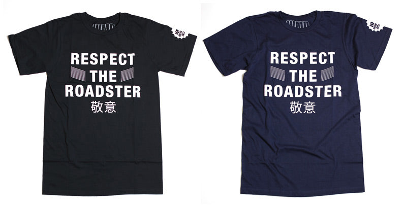 Miata tshirt roadster t shirt mazda miata mx5 nb respect the roadster