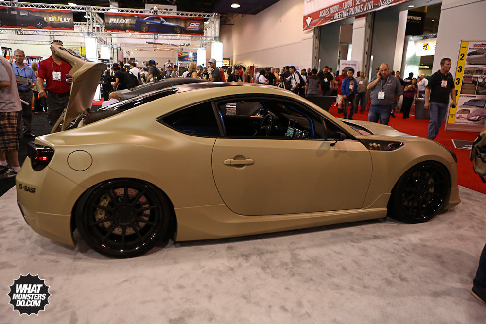 Scion FRS at SEMA 2012 Scion Booth
