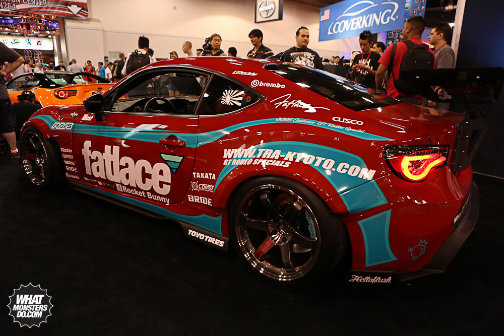 Scion FRS at SEMA Show 2012 Scion Booth