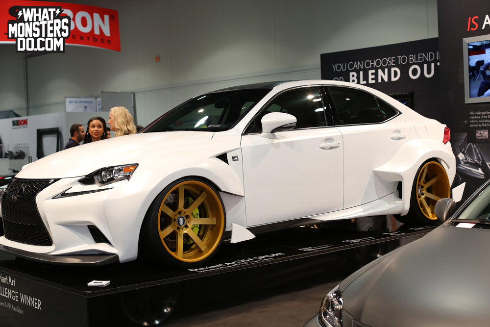 SEMA 2013 LEXUS IS350