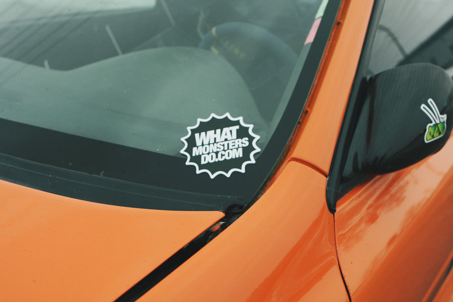 wmd what monsters do sticker
