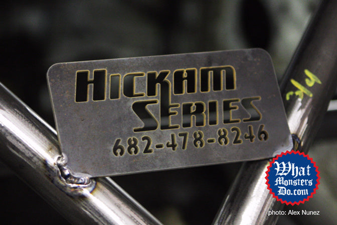 Hickam Series roll cage for the texas mile honda civic crx