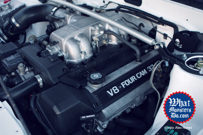 AE86 V8 Four Cam engine