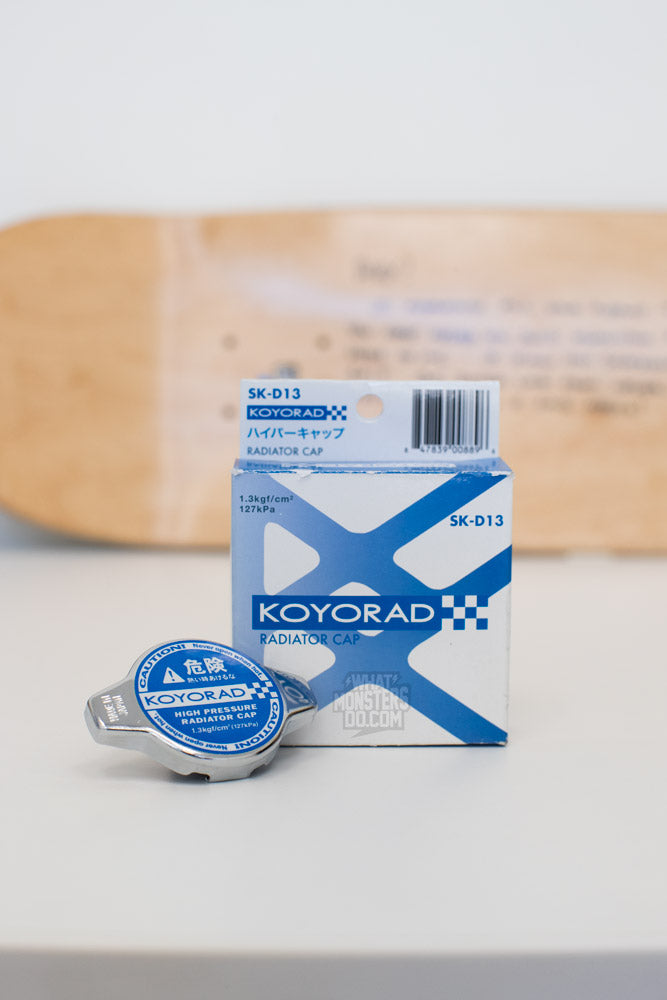 KOYORAD BRZ FRS GT86 High Pressure Radiator Cap - Part# SK-D13 Blue