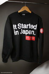 It Started in Japan Drift Crewneck