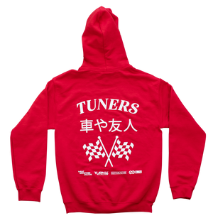 Tuners Hoodie - Red