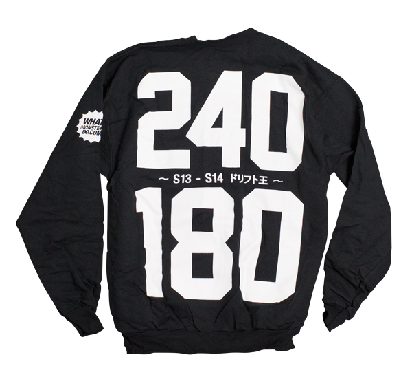 240 / 180 Drift King Crewneck - Black
