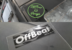 OffBeat Garage Bumper Sticker and Decal Pack