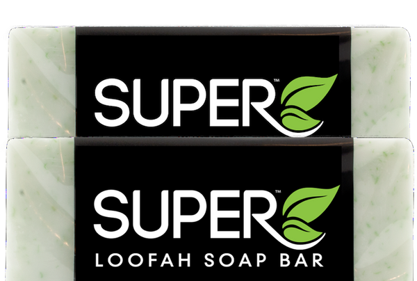 Loofah Soap Bar 4 oz.