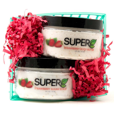Gift Set - Strawberry Sugar Scrub & Body Butter