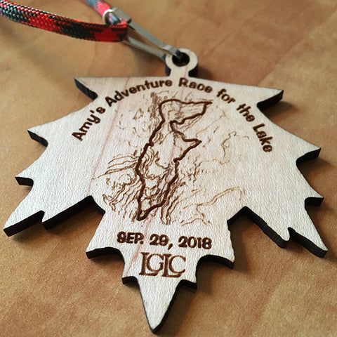 Amy's Race for the Lake Souvenir Medallion (2017 & 2018)