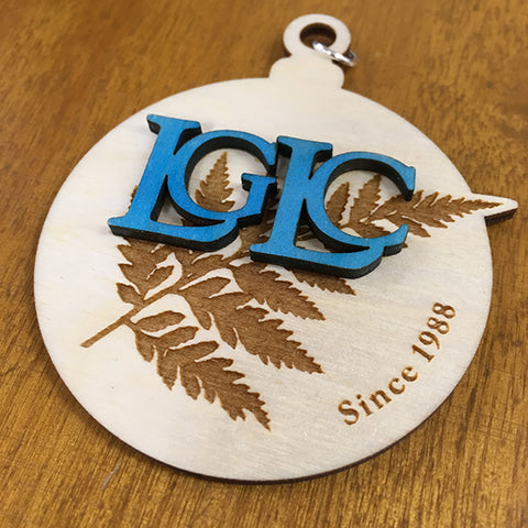 LGLC Wood Ornament