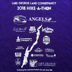2018 Hike-A-Thon shirt, back