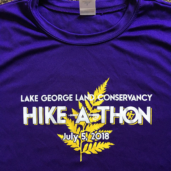 2018 Hike-A-Thon shirt, front