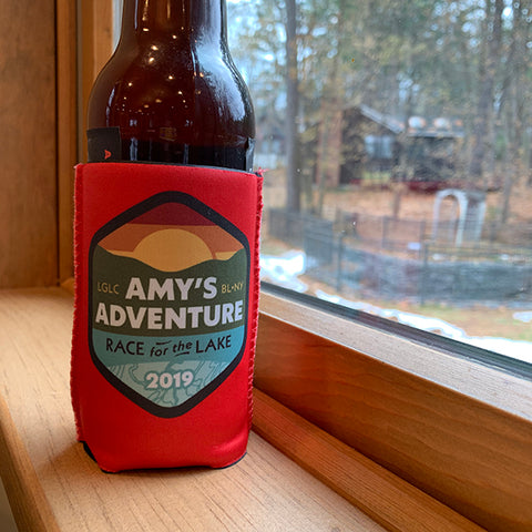Amy's Race for the Lake 2019 Koozie