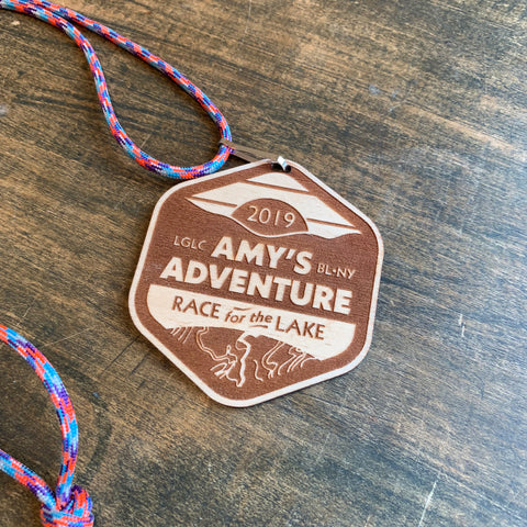 Amy's Race for the Lake Souvenir Medallion (all years)