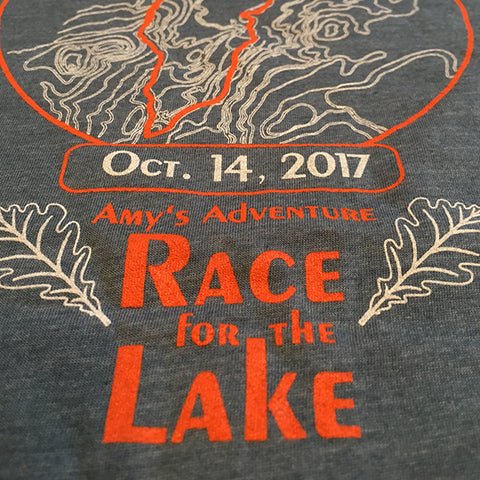 Amy's Race for the Lake T-Shirt - 2017