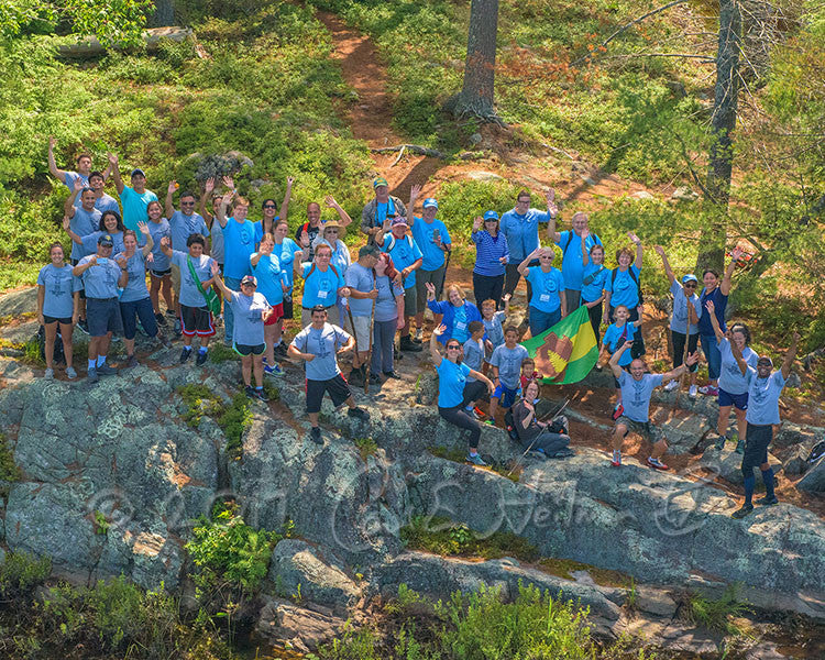 2017 Hike-A-Thon Photography by Carl Heilman, II