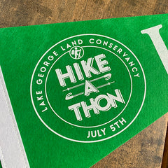 Hike-A-Thon Pennant - NEW!