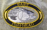 Bass Fish-Head Hat