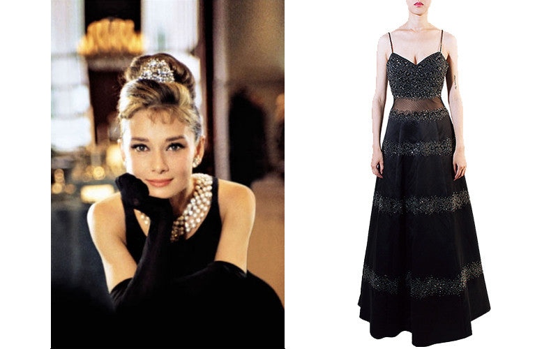 1920s Classic Black with Audrey Hepburn