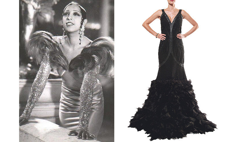 1930s Burlesque Outfit with Josephine Baker