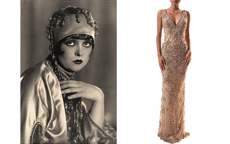 1920s Great Gatsby with Clara Bow