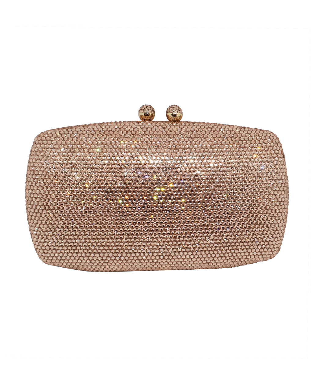 Rose Gold Stone Clutch