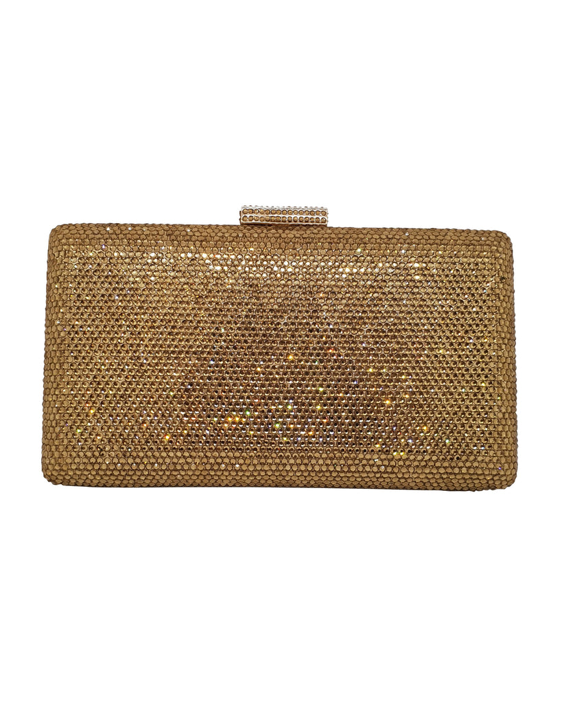 Rectangle Gold Clutch