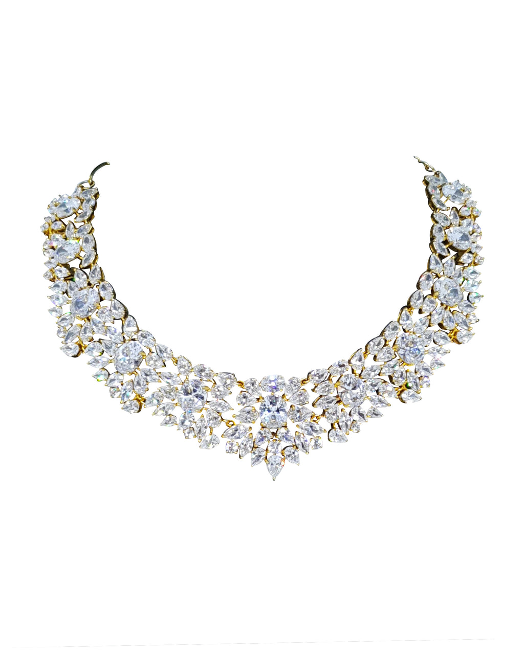 Zircon Choker Necklace