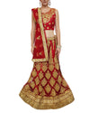Red Bridal Indian Lehenga Set