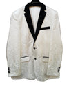 White & Black Blazer