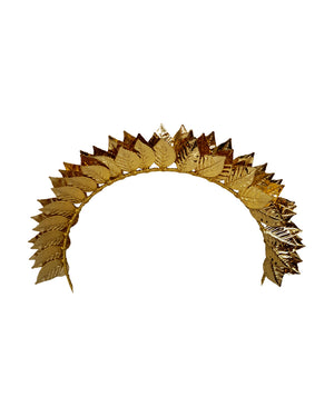 Antique Gold Leaf Headband