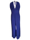 Blue Crystal Waist Jumpsuit