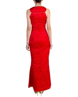 Empress Dragon Cheongsam - Custom - Covetella Dress Rentals
