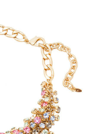 Sleeping Beauty Necklace (Multi/Gold)