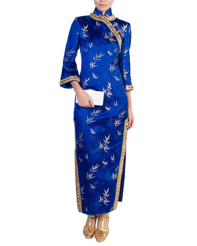 Empress Bamboo Cheongsam by Custom - Rent or Buy It at Covetella