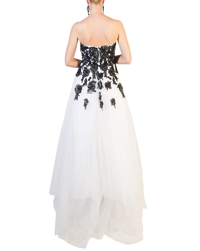 Falling Flower Sweetheart Evening Gown by ALYCE - Rent or Buy It at ...