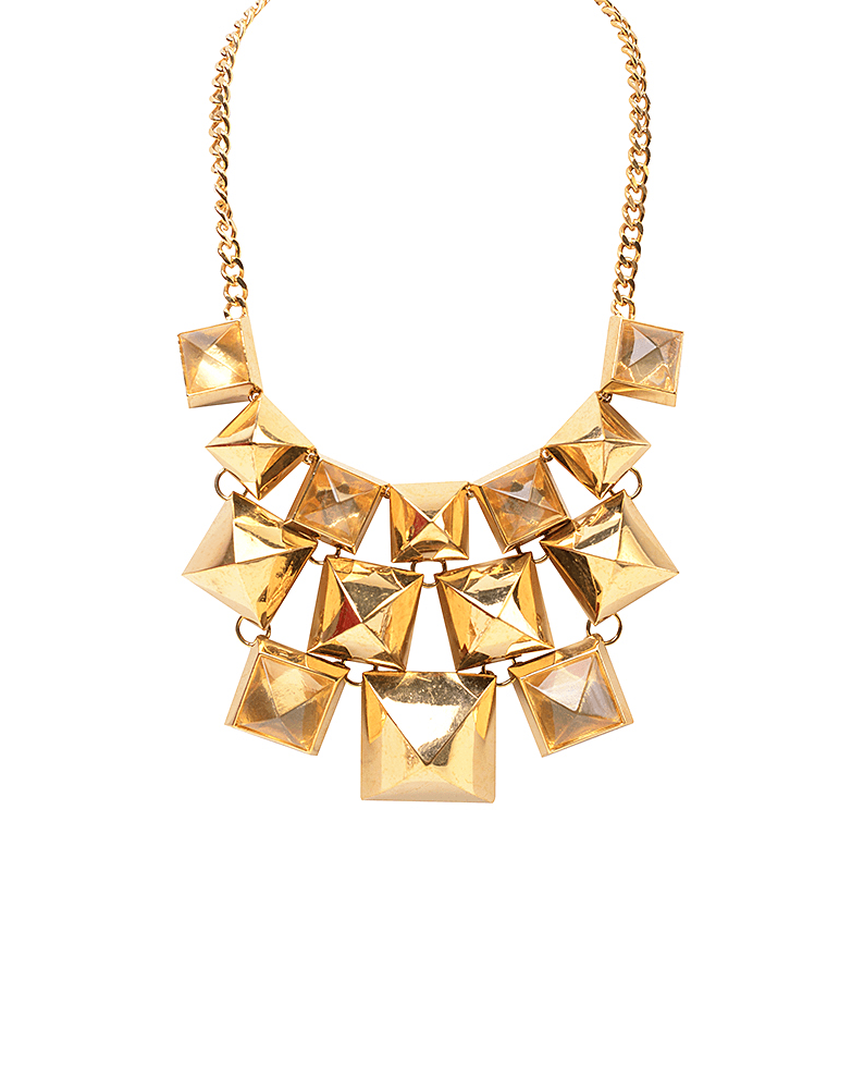 Liquid Metal Open Spike Collar Necklace - Alexis Bittar - Covetella Dress Rentals
