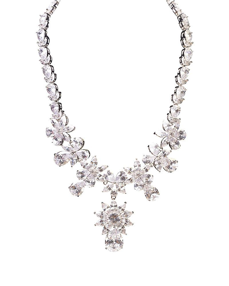 Snowflake Necklace by Jolie - Rent or Buy It at Covetella