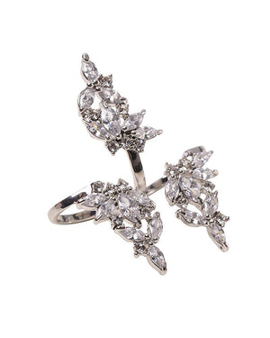 Two-Finger Flower Ring by APM Monaco - Rent or Buy It at Covetella