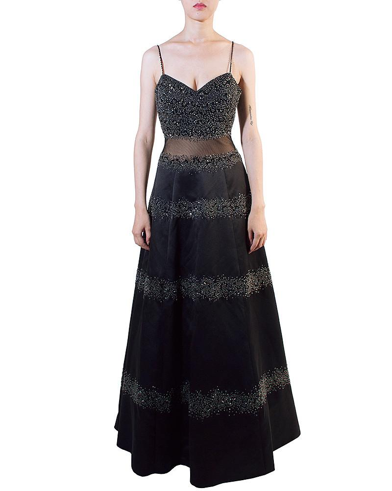 Semi-Beaded Layer Gown by Jovani - Rent or Buy It at Covetella