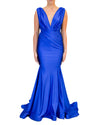 Sleeveless Jessica Gown - Blue