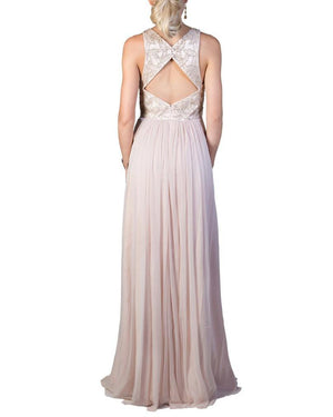 Beaded Navajo Cut-Out Gown - George - Covetella Dress Rentals