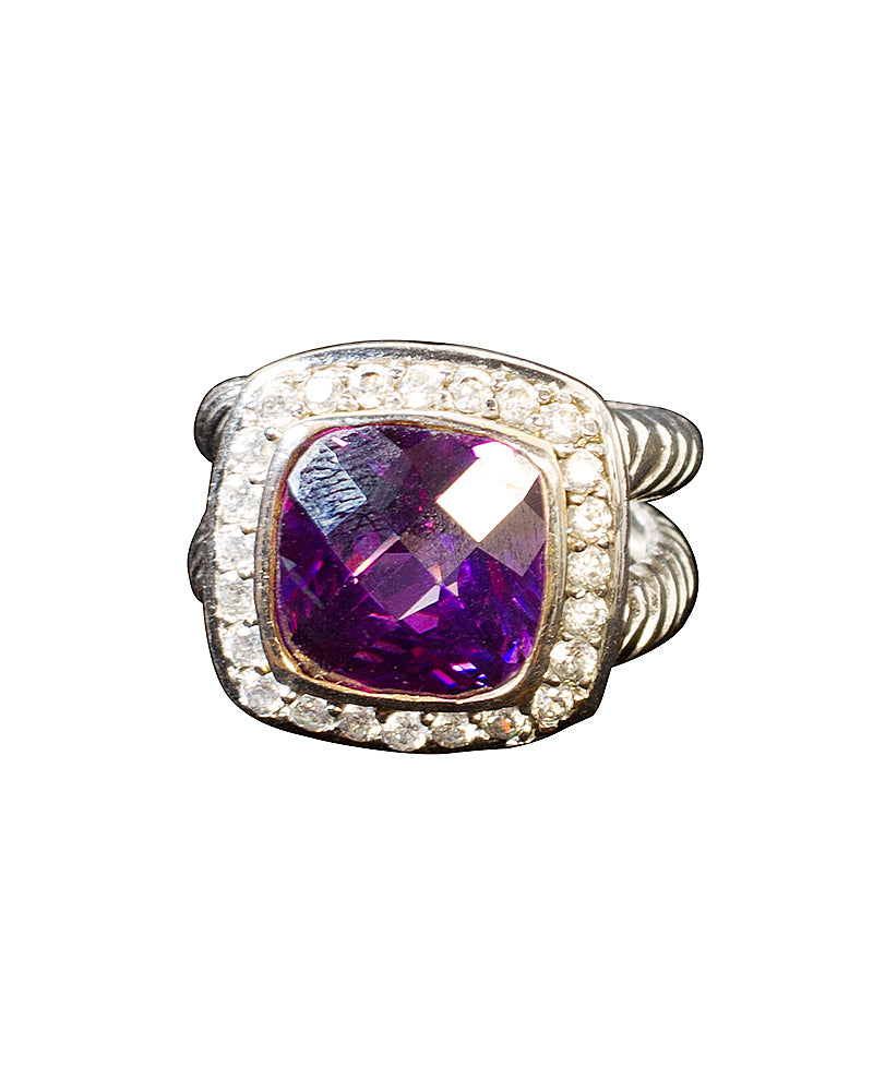 Purple Gemstone Ring by Jolie - Rent or Buy It at Covetella